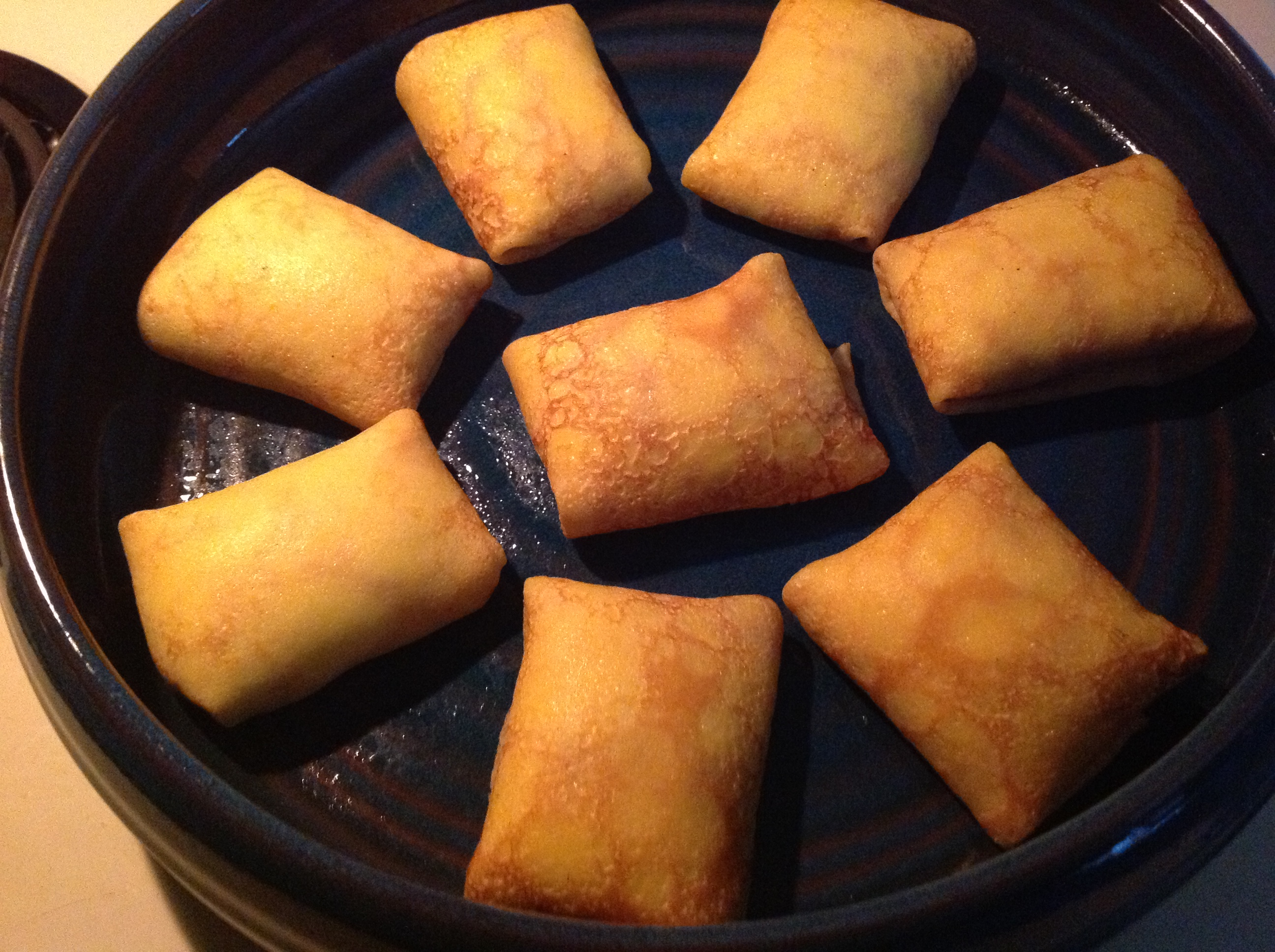 crepes from oven