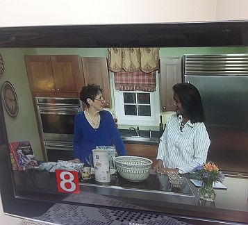 11 BLR talking with host Jocelyn about Norwich Otis Lib cookbook cropped sized 20 percent